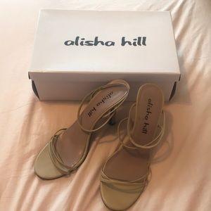 Alisha Hill Nude High Heel Shoes